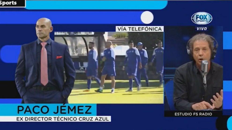 Paco Jémez y Daniel Brailovsky (Fox Sports)