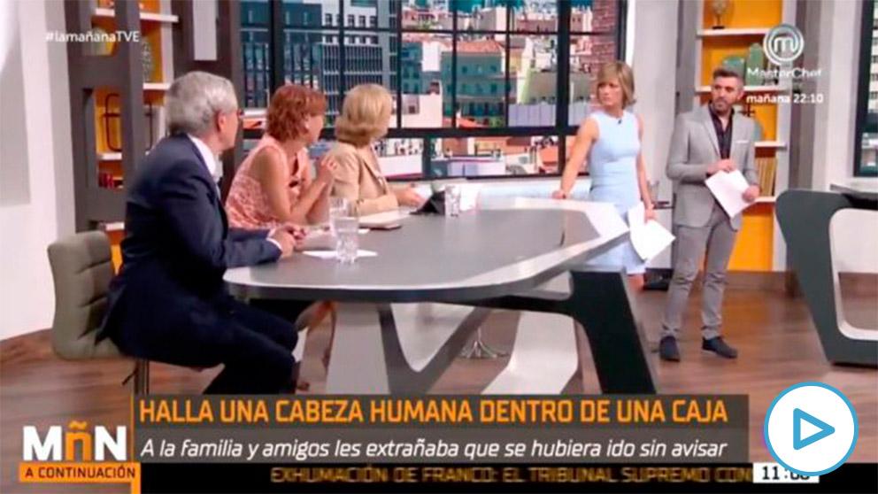 El programa de 'La Mañana' de TVE se ríe del macabro crimen de Castro Urdiales.