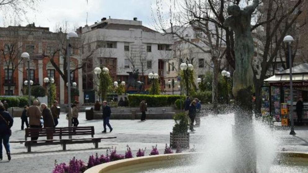 Una fuente en Ciudad Real. Foto: EFE