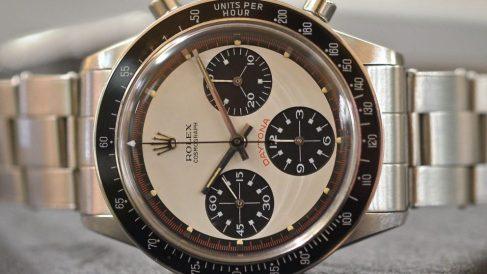 Una mujer encontró un reloj Rolex de 250.000 dólares en un sofá que compró