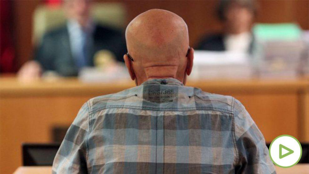 El violador del ascensor, Pedro Luis Gallego, ante el tribunal. Foto: Europa Press