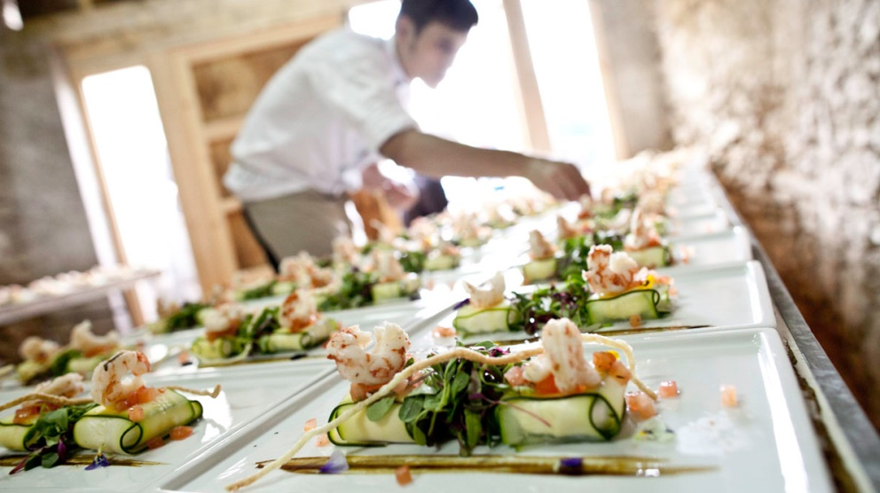 Si algo sobra en las bodas, además de amor, es comida