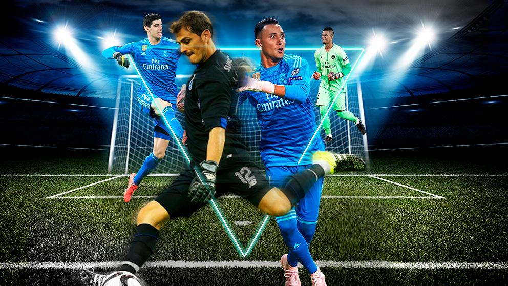 De Casillas a Courtois, el debate en la portería del Real Madrid es interminable.