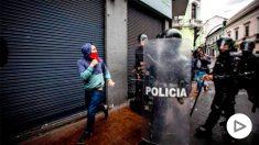 Protestas sociales en las calles de Ecuador @Getty