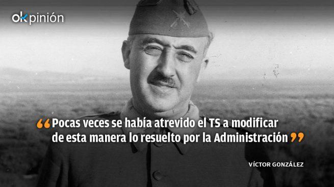 La dudosa motivación de la sentencia sobre Franco