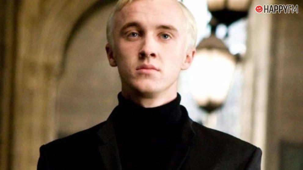 Tom Felton se vuelve viral al rescatar este vídeo del rodaje de Harry Potter