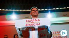 El líder de Ciudadanos, Albert Rivera, protagoniza este sábado el pistoletazo de salida de la precampaña de su partido con un encuentro ciudadano en Madrid. (Foto: EFE).