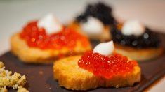 El caviar es uno de los alimentos más deliciosos del mundo