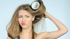 Cómo recuperar un pelo rizado que se ha quedado liso paso a paso