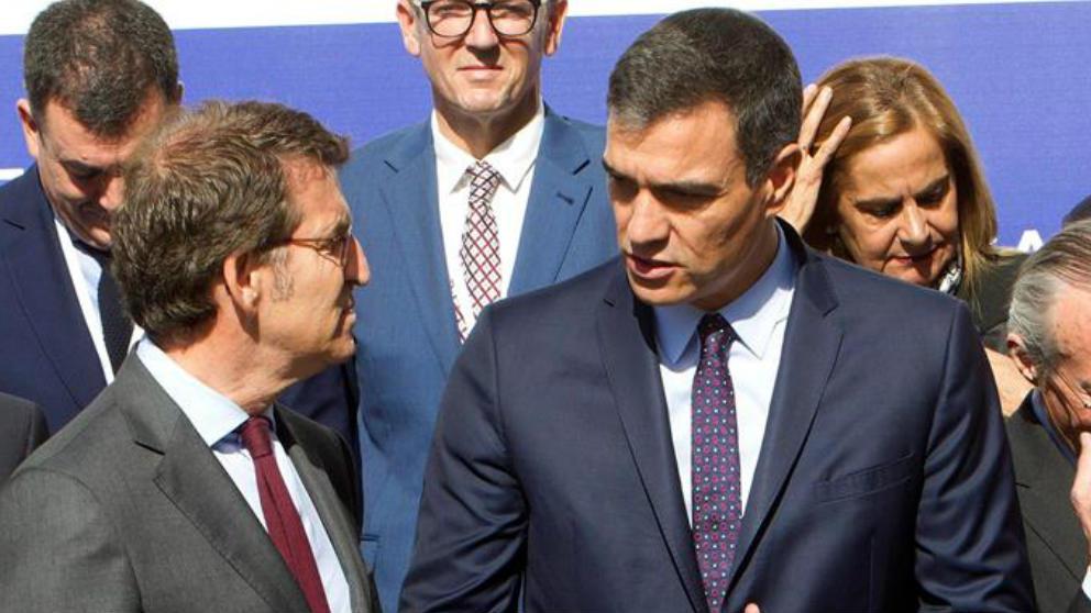 Pedro Sánchez y Alberto Núñez Feijóo.