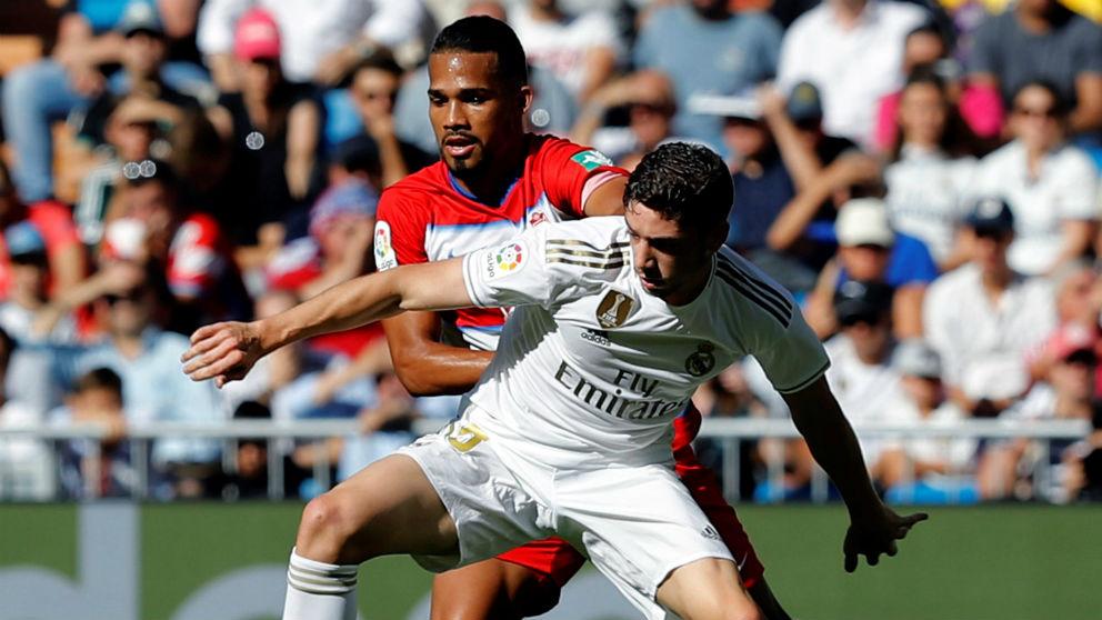 Valverde, durante un partido. (AFP)