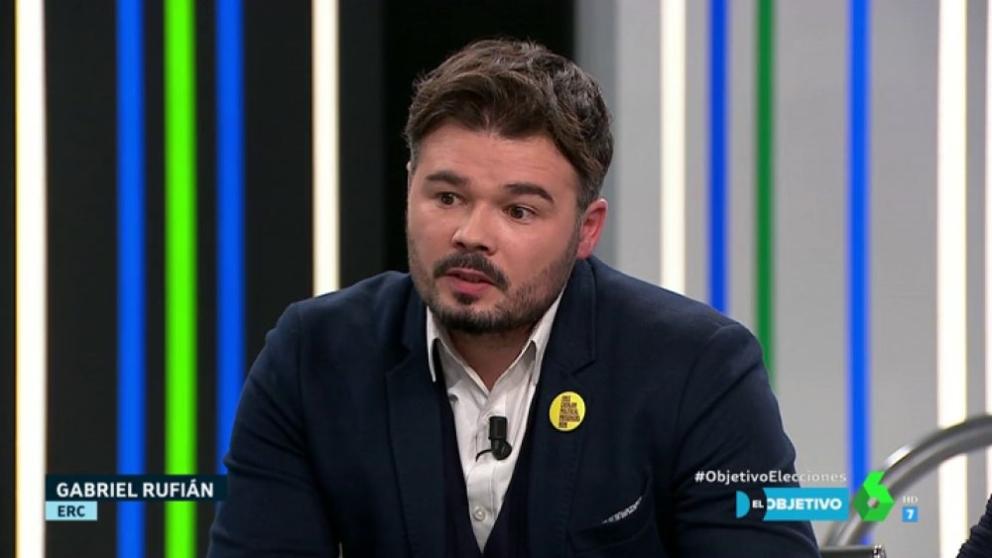 Gabriel Rufián visita 'El Obejtivo'