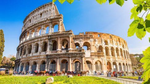 El Coliseo de Roma es el monumento italiano más conocido en todo el mundo