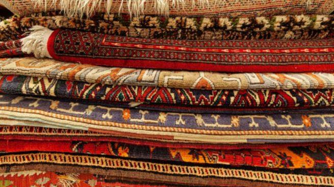 como limpiar alfombras persas