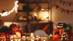 Guía de pasos para preparar una mesa para Halloween
