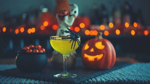como preparar mesa Halloween