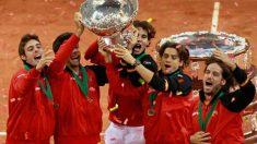 España ha ganado la Copa Davis en varias ocasiones