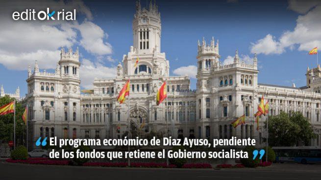 Sánchez busca ahogar económicamente a la Comunidad de Madrid