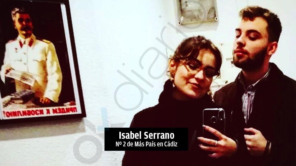Isabel Serrano Durán, número dos de Más País en Cádiz.