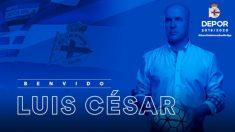 Luis César, nuevo entrenador del Deportivo (Real Club Deportivo)