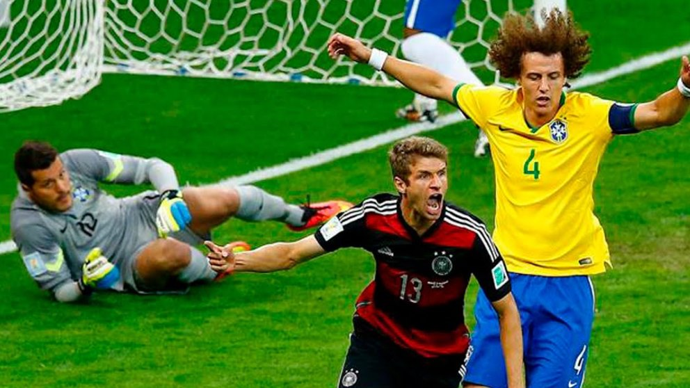 La selección brasileña se llevó una de las goleadas más humillantes de los mundiales