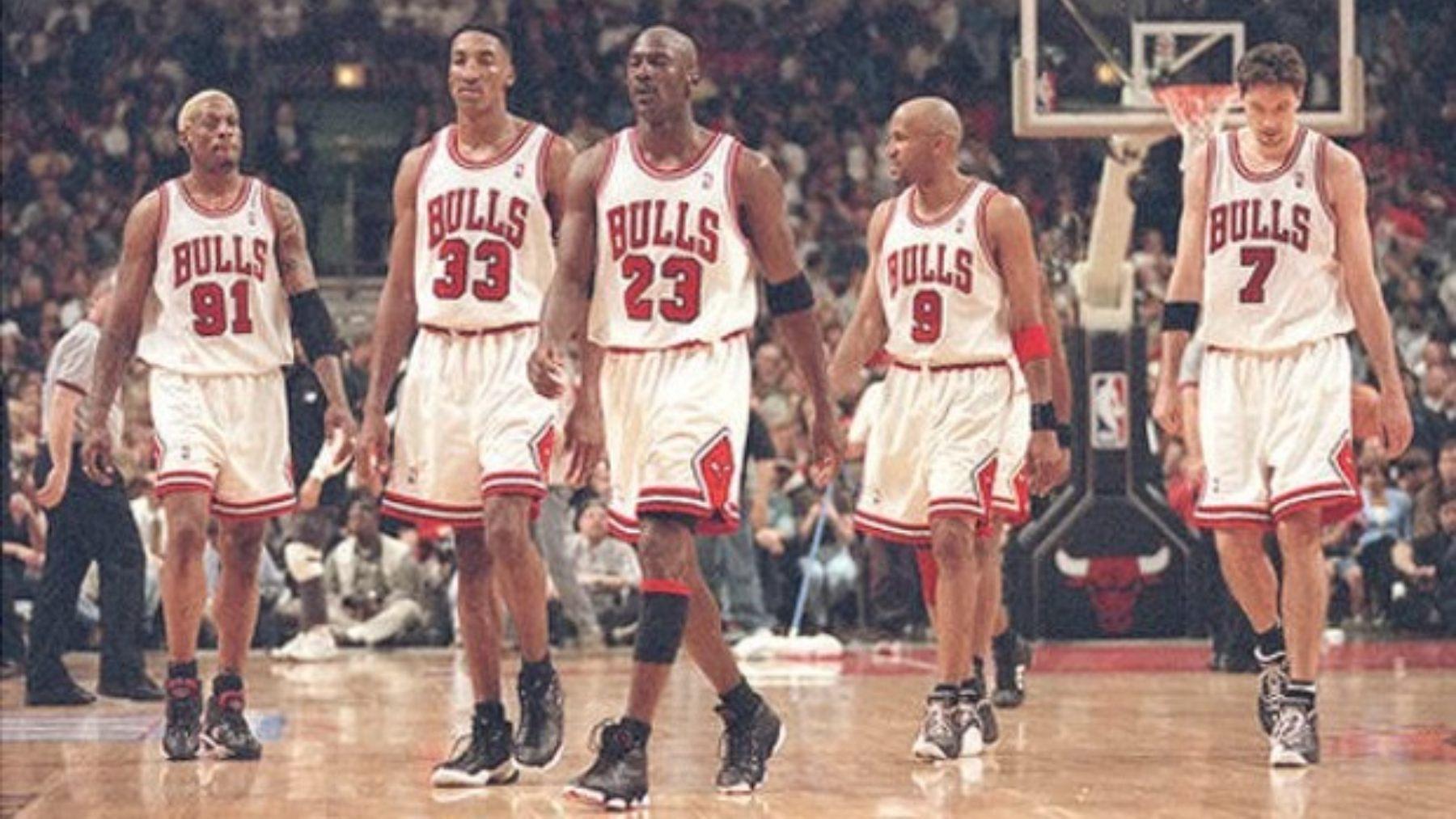 Chicaco Bulls de Jordan, uno de los mejores equipos de la historia de la NBA