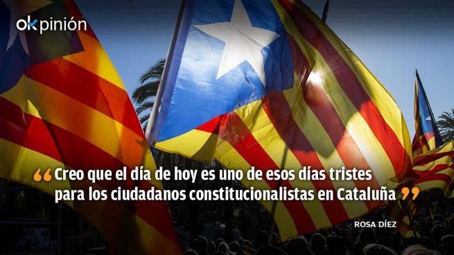 Lamentable espectáculo de los socialistas en Cataluña