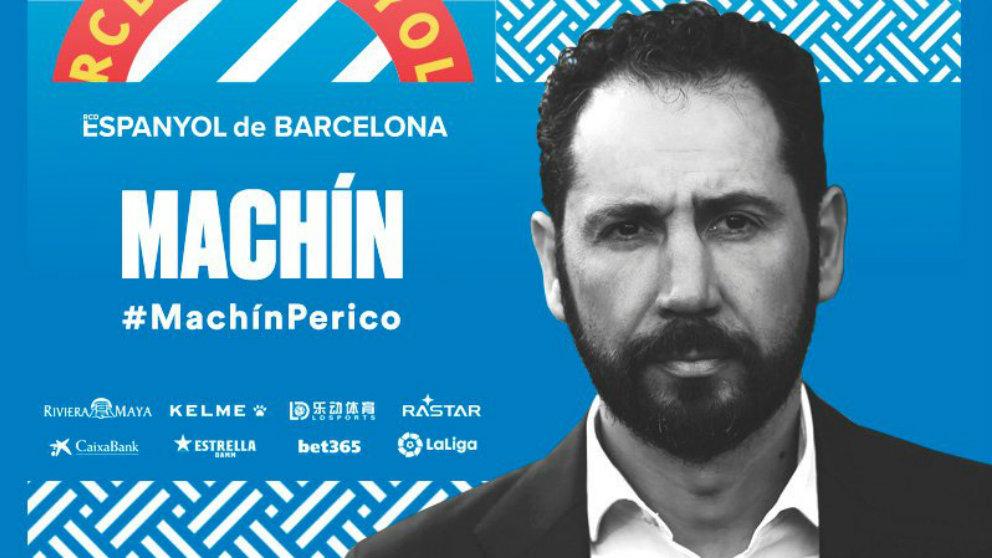 Pablo Machín, nuevo entrenador del Espanyol (@RCDEspanyol)