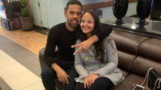 Renan Lodi y su novia Rafaela (@Renan_lodi)