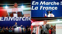 El lema de Ciudadanos copiado de Emmanuel Macron.