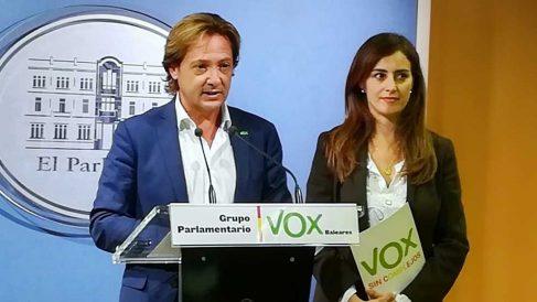 Jorge Campos, diputado de Vox por Baleares