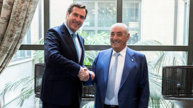 CEOE renueva su acuerdo de colaboración con Globalia