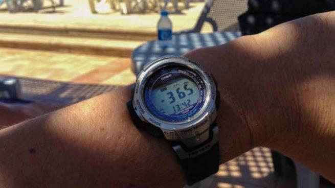 cambiar la hora de un reloj Casio