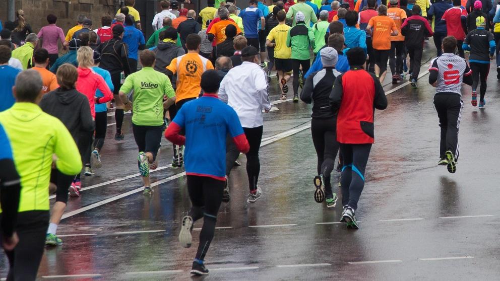 El deporte bajo la lluvia requiere precauciones especiales