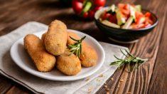 Croquetas de calabacín y mozzarella