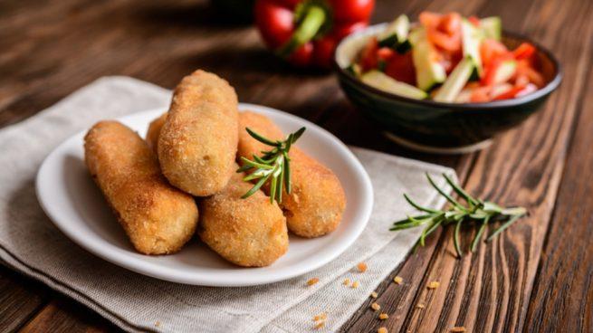 Receta de croquetas de calabacín y mozzarella