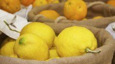 Los limones está recubiertos por una fina capa de cera