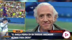 El Barça está pensando en ceder a Griezmann al PSG.