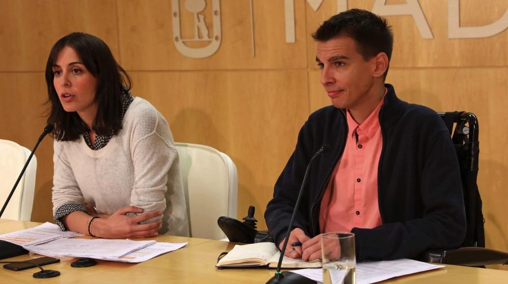Rita Maestre y Pablo Soto. (Foto. Madrid)
