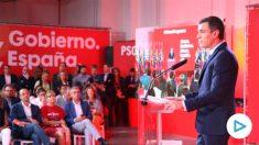 Pedro Sánchez, líder del PSOE y presidente del Gobierno en funciones.