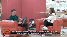 Toñi Moreno y Antonio Banderas