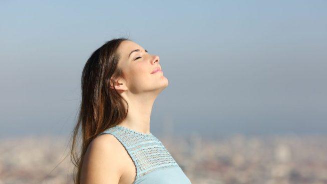 Respirar por la nariz