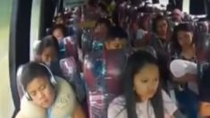 Facebook: Terribles imágenes de un accidente de autobús mortal