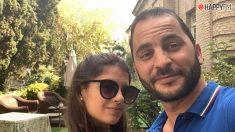 Antonio Tejado y su novia