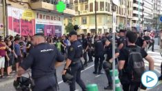 Protestas en Valencia. Vídeo: Juan Nieto Ivars.