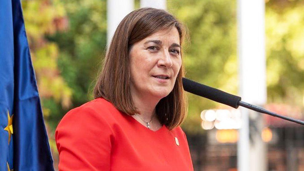 La consejera de Sanidad de La Rioja, Sara Alba