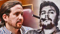 Pablo Iglesias y Ernesto Che Guevara.