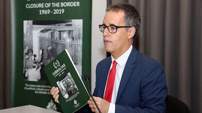 El viceministro principal de Gibraltar, Joseph García