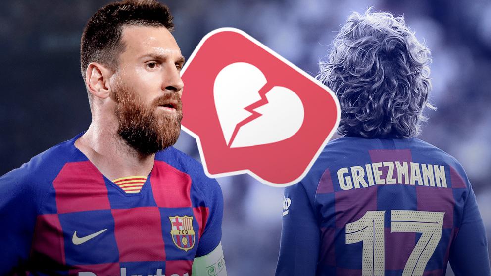 Messi y Griezmann no se 'gustan' en Instagram.