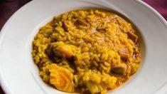 Receta de arroz con mero